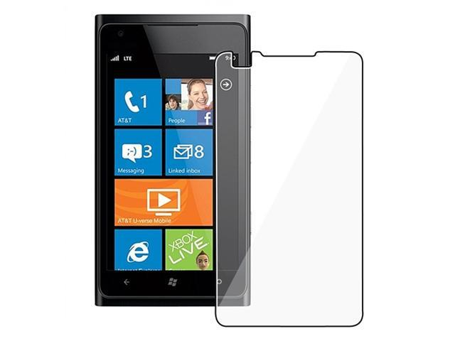 Clear Reusable Screen Protector compatible with Nokia Lumia 900, 6-Pack