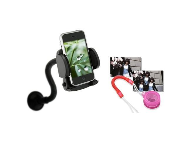 Car Windshield Mount Cradle Compatible With Motorola Atrix 4G Phone