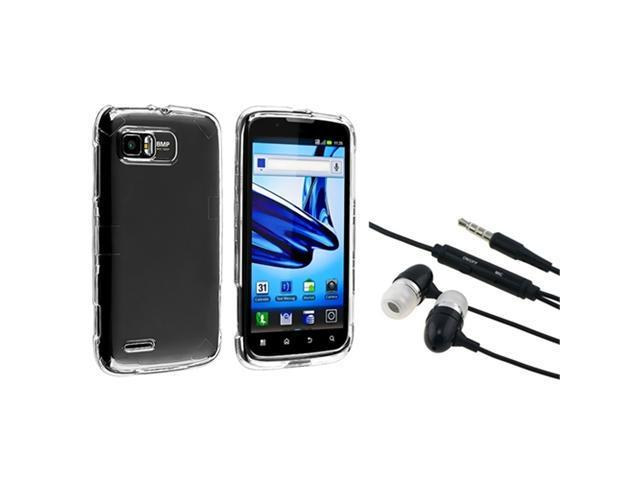 Clear 3.5mm Cell Phone - Wired Headset & Speakers