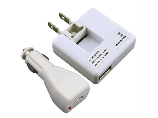USB AC Power Adapter+Car Charger Accessory For Verizon Att iPhone® 4 4S 4G 4Th
