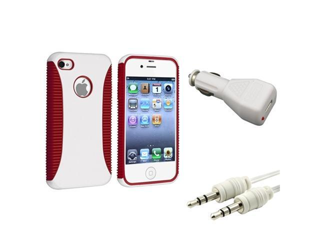 Insten White Cell Phone - Chargers & Cables