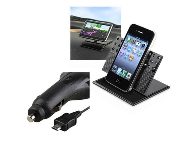 Car Mount+Charger compatible with Motorola Droid 2 Global Atrix 4G