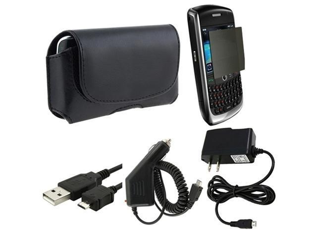 AC+Car Charger+Case+Guard+USB compatible with Blackberry Curve 8900