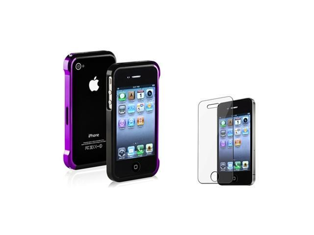 Insten Purple and Black Solid Cell Phone - Case & Covers