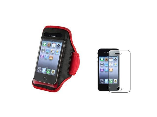 Insten Red Solid Cell Phone - Case & Covers
