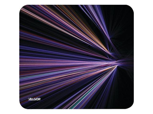 Allsop 30600 NatureSmart Mousepad Tech Purple Stripes
