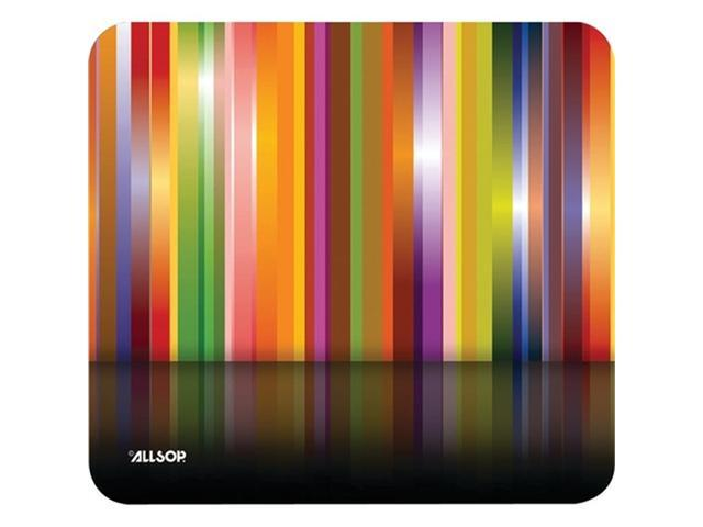 Allsop 30599 Naturesmart Mousepad Tech Multi Stripes