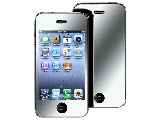 Insten Mirror Screen Protector for Apple iPhone 4 / 4S