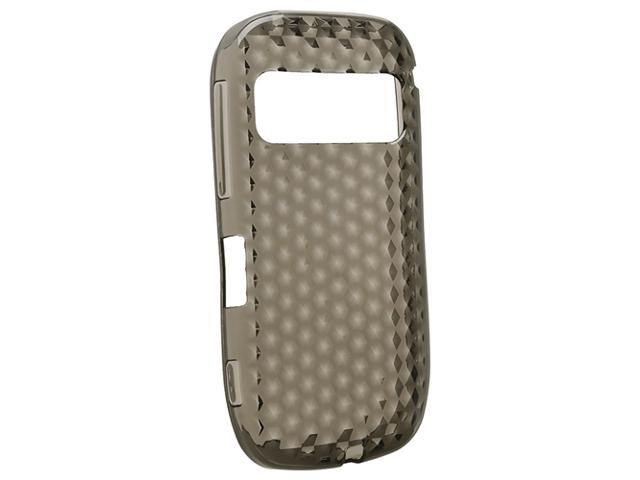 TPU Rubber Skin Case compatible with Nokia 701, Smoke Diamond