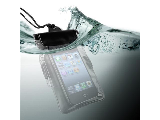 Universal Waterproof Bag Case compatible with Cell Phone / PDA, Black