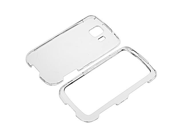 Snap-on Crystal Case compatible with LG Optimus S LS670, Clear