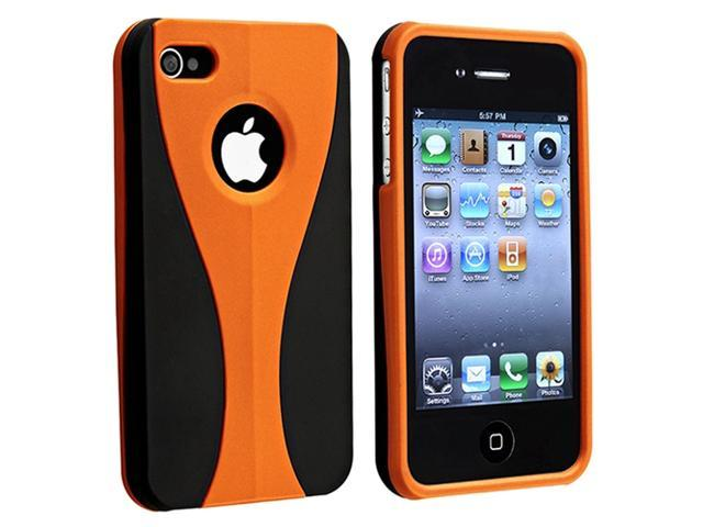 Insten Orange Solid Cell Phone - Case & Covers