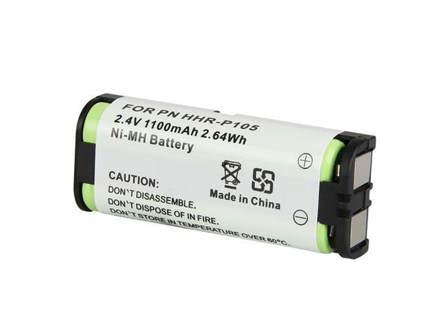 Compatible Ni-MH Battery for Panasonic HHR-P105 Cordless Phone