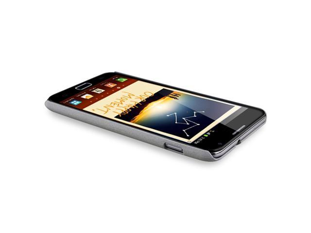 Snap-on Case compatible with Samsung© Galaxy Note N7000, Grey Matte