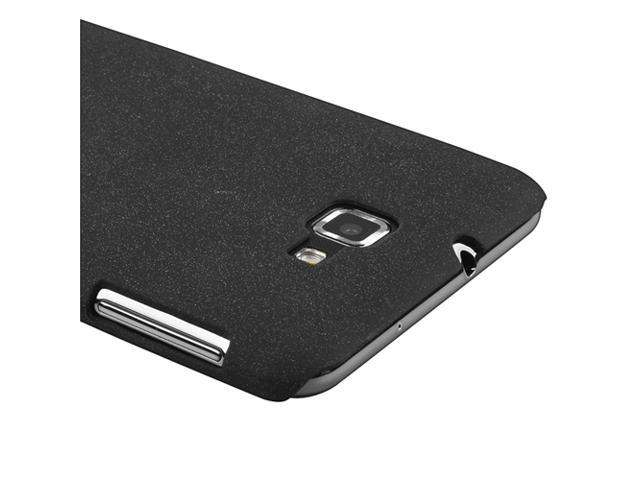 Snap-on Case compatible with Samsung© Galaxy Note N7000, Black Matte
