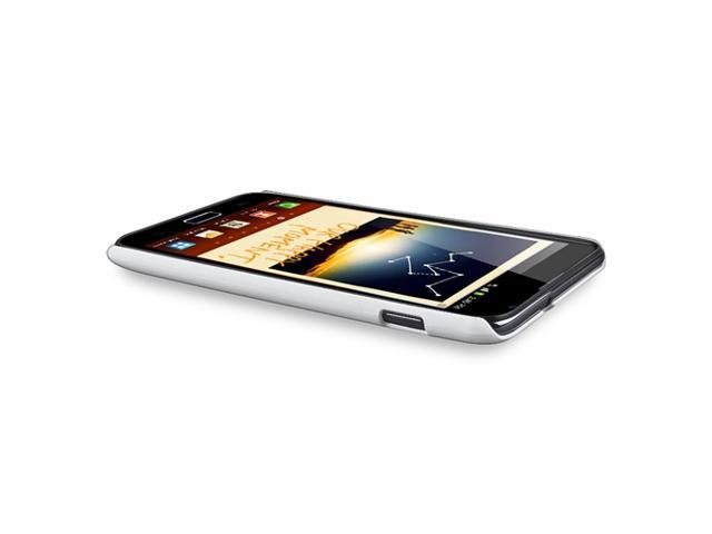 Snap-on Case compatible withSamsung© Galaxy Note N7000, White Matte