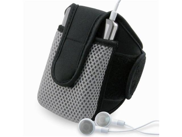 INSTEN Black SportBand w/ case Compatible With Apple® iPhone® 4S