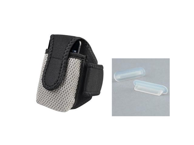 BLACK CASE HOLDER+SPORT ARM BAND compatible with IPOD TOUCH 2nd Gen