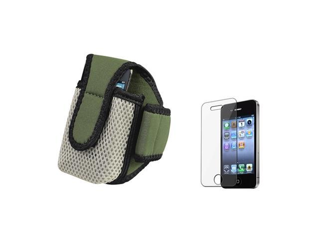 Accessory compatible with Apple® iPhone® 4 s 4s 4G 4GS SPORTS RUNNING Armband Case + LCD Film