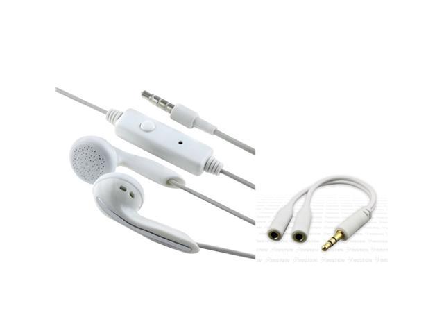 Earpiece+INSTEN Splitter compatible with iPhone® iPod touch® 2 3 4 G