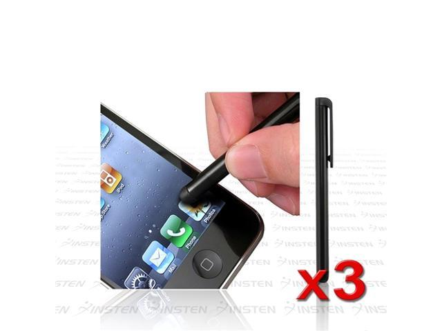 3 Accessory compatible with Apple® iPod touch® iPhone® 3G 3GS 32GB 4G 4th Gen INSTEN Stylus Pen