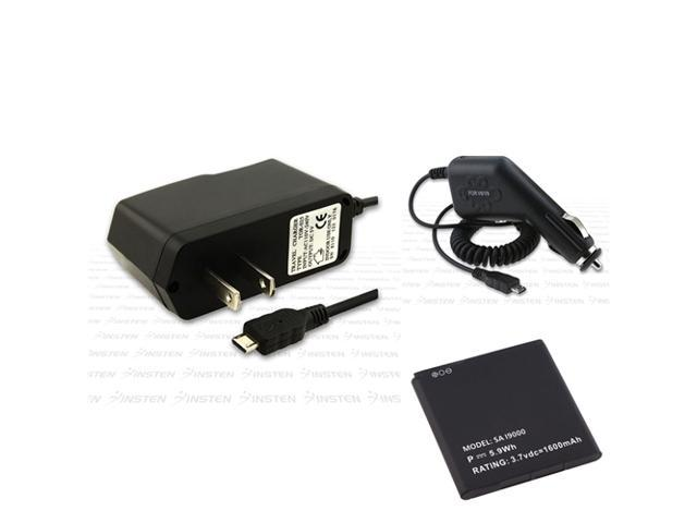 Battery+2 INSTEN Charger compatible with Samsung© Galaxy S Vibrant