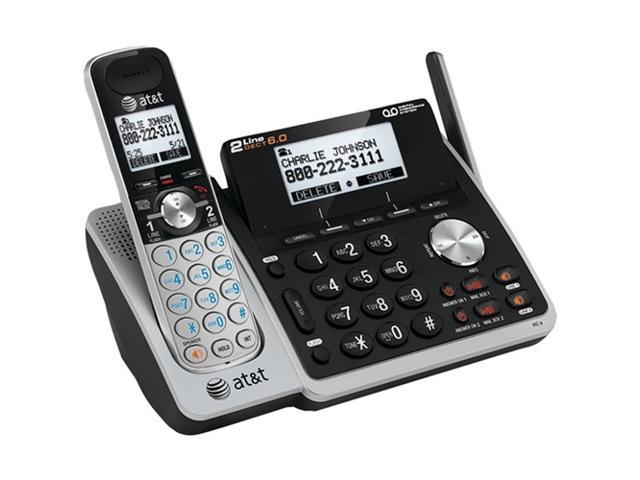 ATT ATTL88102 DECT 6.0 Expandable 2-Line Speakerphone with Caller ID