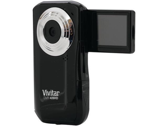Vivitar DVR426HD-BLK-SOL Black Pocket Camcorder
