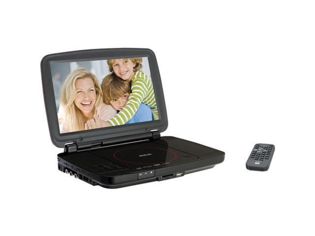 """RCA DRC99310U 10"""" Portable DVD Player with USB and SD Card Slot"""