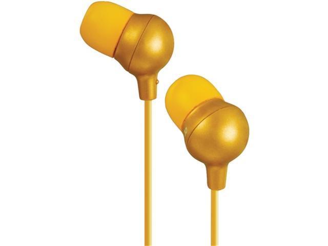 Jvc Hafx30D Marshmallow Inner Ear Headphones (Orange)