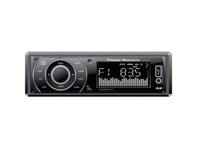 Power Acoustik PL-10A Single-DIN Mechless Source Unit with 32GB SD/USB Playback