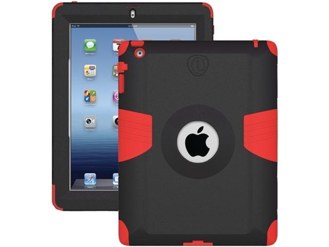 Trident Case AMS-NEW-iPad-RD Kraken AMS Case for New iPad - 1 Pack - Red