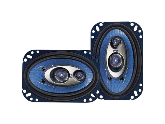 PYLE CAR AUDIO PL63BL NEW 6.5 INCH 360 WATT 3 WAY TRIAXIAL SPEAKER SYSTEM 1 PAIR