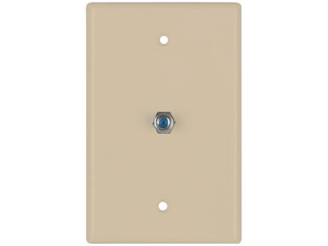 Datacomm Electronics 32-2024-Iv 2.4 Ghz Coax Wall Plate ,Ivory
