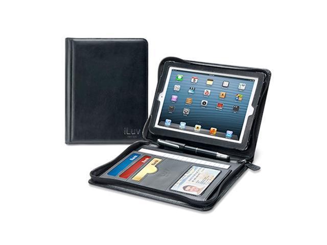 iLuv CEO Folio Multi-Purpose Portfolio Case for iPad Mini Model ICA8J345BLK