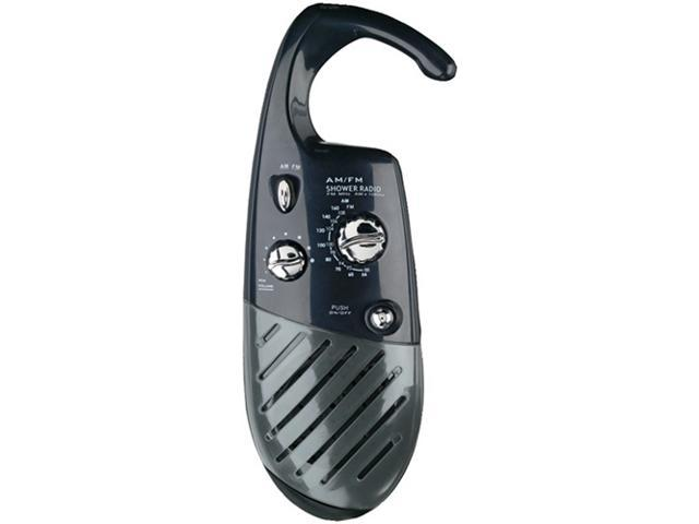 Conair Sr10 Shower Radio, Black