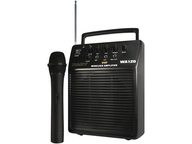 Nady WA-120HT/A Portable Wireless Public Address System with Hand-Held Mic/Transmitter