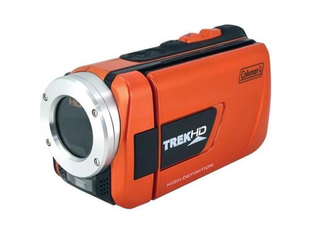 COLEMAN CVW16HD-O 16.0 Megapixel 1080p TrekHD Waterproof Digital Video Camera