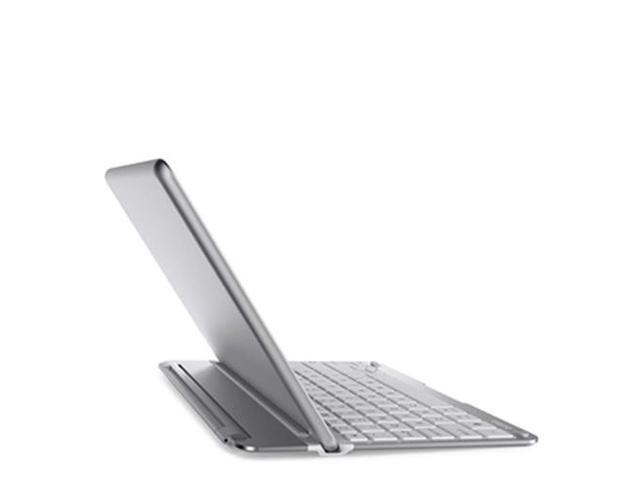 Belkin QODE Thin Type Keyboard compatible with iPad Air, Silver F5L155ttWHT