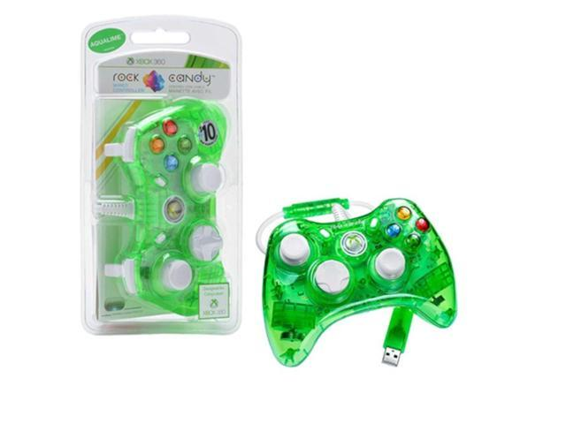 PDP Rock Candy Controller For Microsoft Xbox 360 - Green