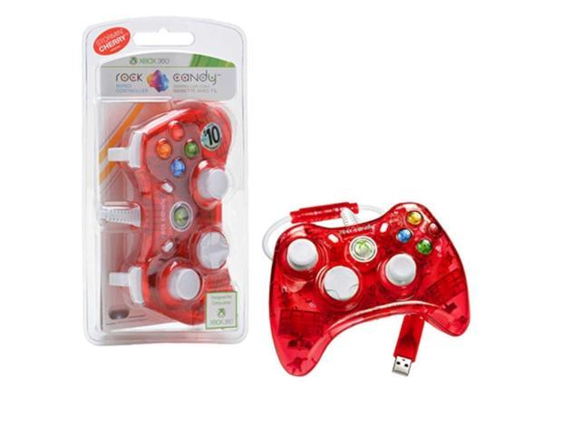 PDP Rock Candy Controller For Microsoft Xbox 360 - Red