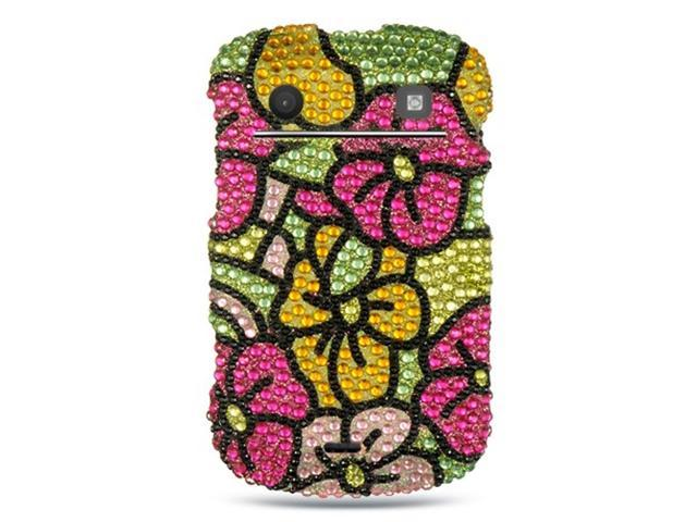 BlackBerry Bold Touch 9900/9930 Case, eForCity Rhinestone Diamond Bling Hard Snap-in Case Cover Compatible With BlackBerry Bold Touch 9900/9930, Colorful