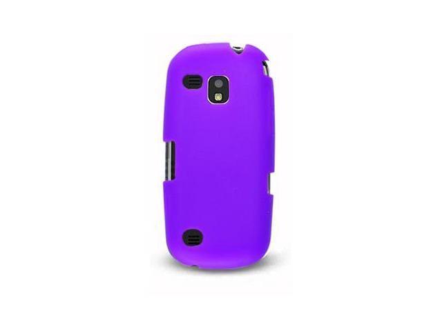 VanMobileGear Purple Premium Silicone Skin Case for Samsung I400 Continuum 885926010087