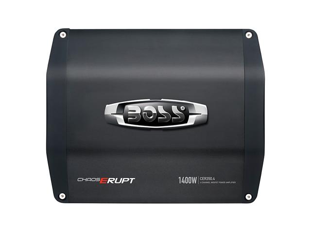 BOSS AUDIO CER350.4 1400W 4 Channels Mosfet Power Amplifier