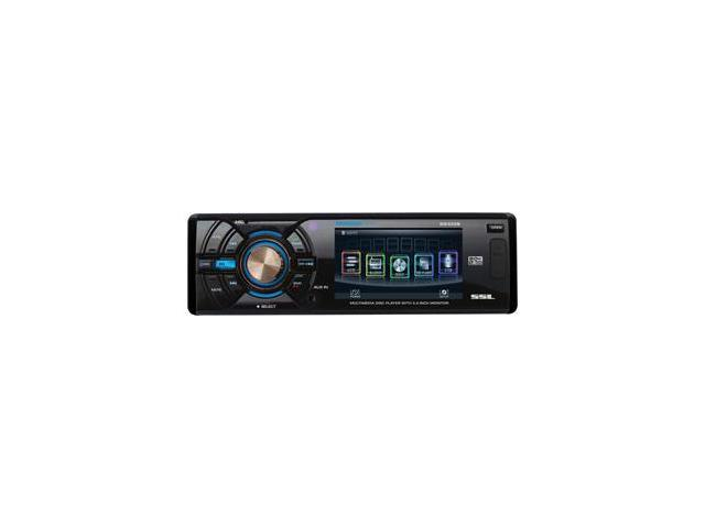 SOUND STORM LABS SD322B IN-DASH SINGLE DIN DVD RECVR W/ 3.2