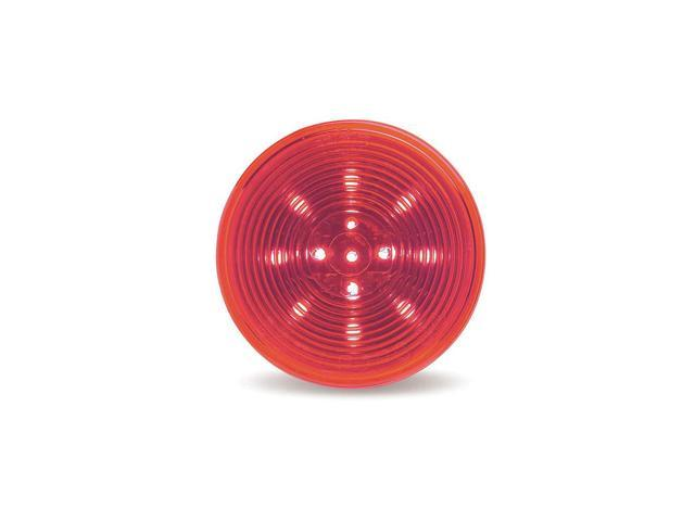 GROTE Lamp, Optic Lens, LED, 2.5 In., Red G1032