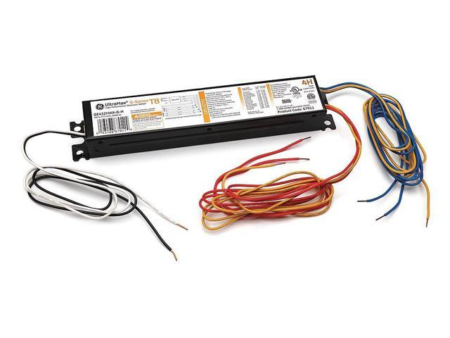 Ge Lighting Electronic Ballast, 32 Max. Lamp Watts, 120/277 V, Instant
