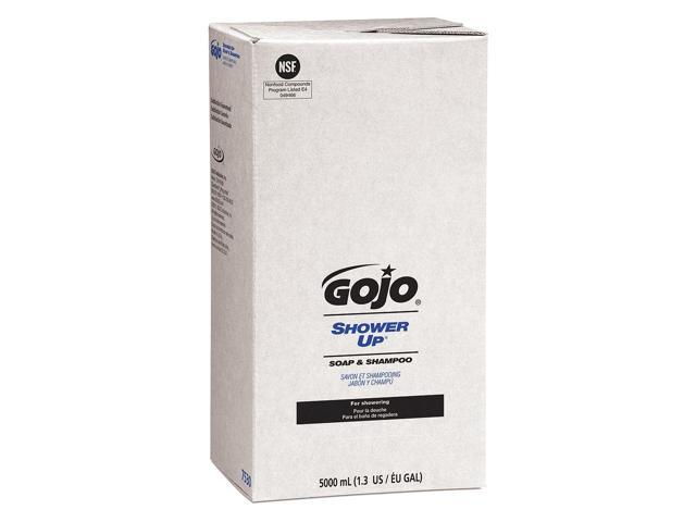 Gojo Liquid Shampoo and Body Wash, Citrus, Floral, 5000mL Cartridge, 2 PK