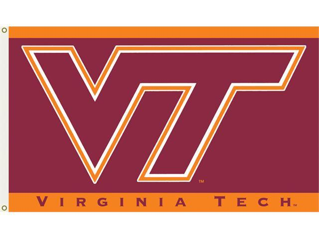 Bsi Products 95011 3 Ft. X 5 Ft. Flag W/Grommets -Virginia Tech Hokies