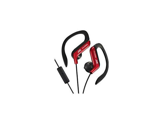 JVC HA-EBR80 Earset - Stereo - Red - Wired - 16 Ohm - 16 Hz - 20 kHz - Gold Plated - Over-the-ear - Binaural - Outer-ear ...
